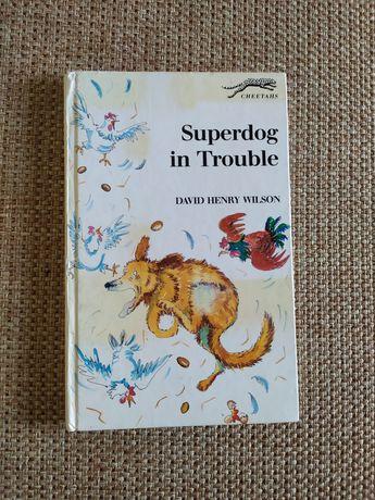 Книга на английском языке Superdog in the trouble