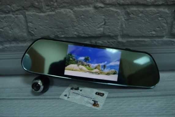 Зеркало на 3 камеры, Видеорегистратор - регистратор новый !