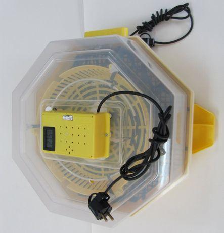 Inkubator CLEO 5 lęgowy,klujnik wylęgarka z wyświetlaczem, taca GRATIS