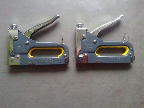 nowy zszywacz tapicerski z regulacja 4-14mm topex tania wysylka
