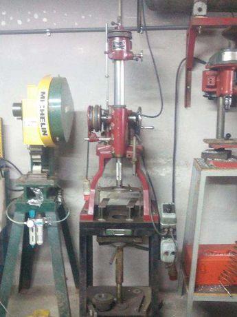 Máquina de retificar cilindros de motos e motorizadas