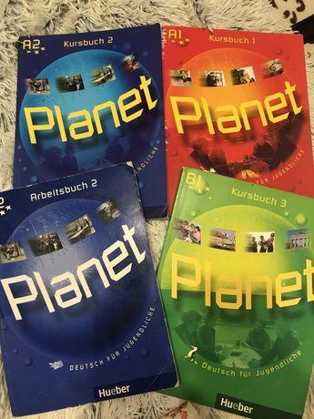 Planet Kursbuch 1, 2 Hueber, A1, A2, B1
