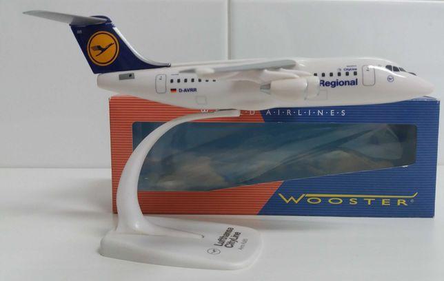 Aviões de coleção-Lufthansa Regional CityLine Avro RJ-85