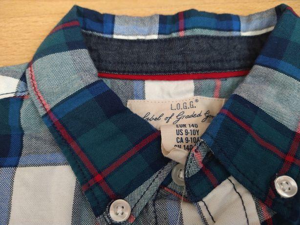 Koszula krata H&M 140 nowa