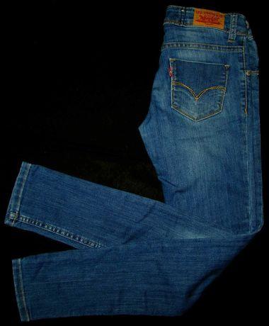 LEVI'S skinny 12L extra spodnie jeans dziewczyna 152cm levis red tab