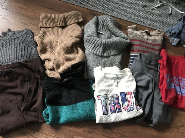 Zestaw swetry golfy