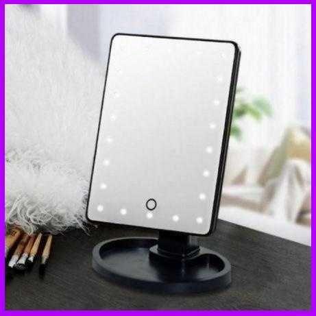 Зеркало косметическое настольное с подсветкой Large LED Mirror