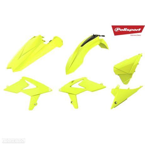 kit plasticos polisport amarelo fluor beta rr enduro
