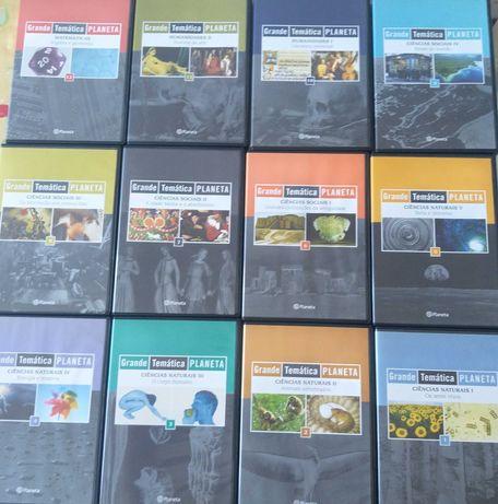Coleção 12 CD-ROM educativos Grande Temática Planeta