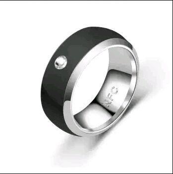 Кольцо с NFC большого розмера для управления телефоном