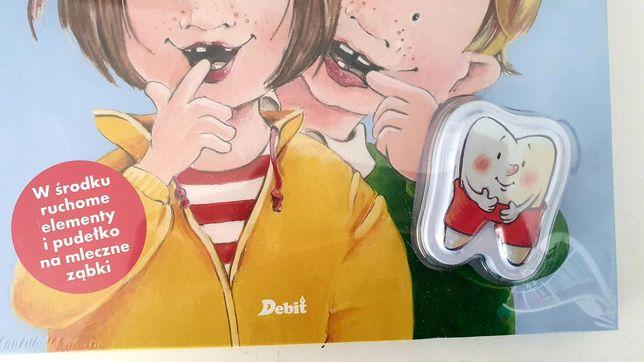 Moje zęby książka z pudełkiem na ząbki