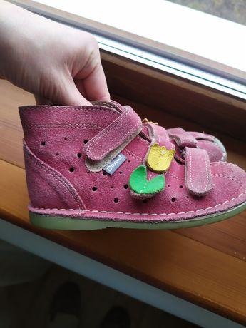 Ортопедические босоножки для девочки,сандали Daniel 26 размер