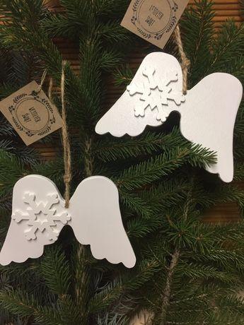 Bożonarodzeniowe białe  Skrzydełka