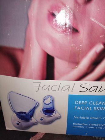 Sauna parowa do tważy,Urządzenie super radzi sobie ze zmianami skórnym