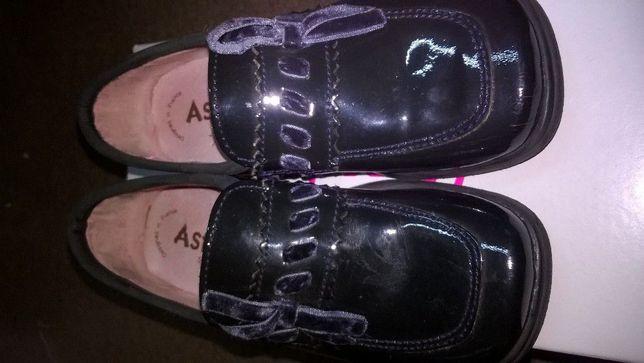 Aster skórzane buciki-mokasynki skórzane typu Bartek, Clarks roz.26