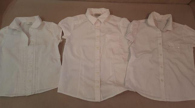 Блузки школьные . 3 шт