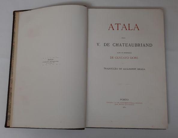 Livro Antigo Atala 1873 Typ Luso Britannica