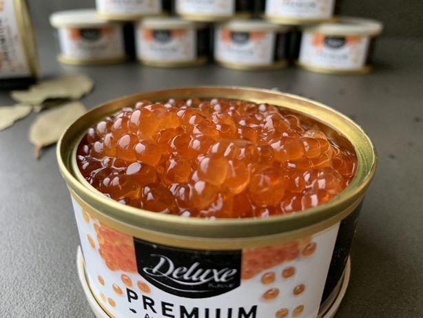 Опт икра Deluxe Premium Супер качество!!!  Делюкс лососевая, Германия