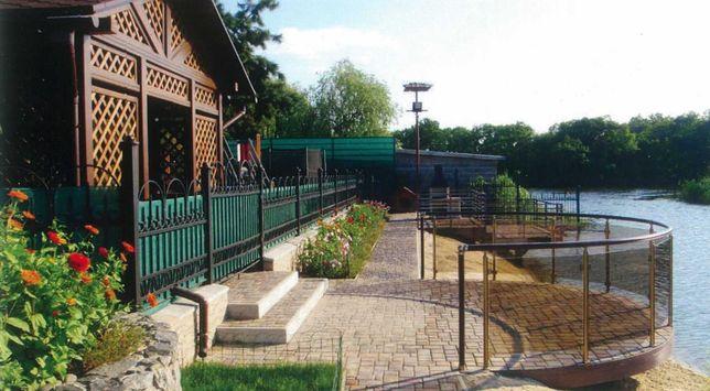 Дом на берегу реки, Песчанка, Новомосковский район