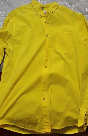 Camisa Zara Man - amarela - tam. L
