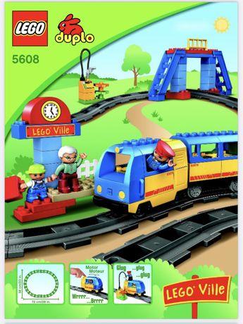 Lego Duplo (5608) - ПОЕЗД (на батарейках)