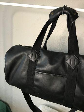 Спортивная кожаная сумка Asos