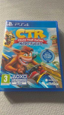 CTR Nitro Fueled crash team racing PS4 gra game