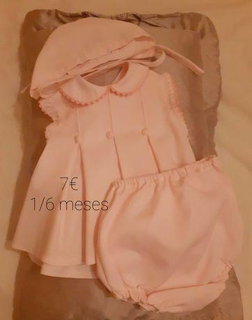 Vários vestidos lindos para bebé