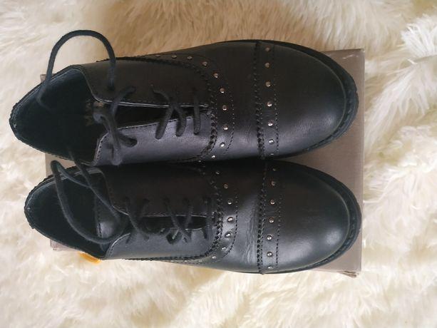 туфли ботинки бата bata натуральная кожа