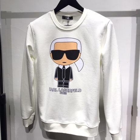 Женский Свитшот Свитер Кофта Батник в стиле Karl Lagerfeld Карл Лагерф
