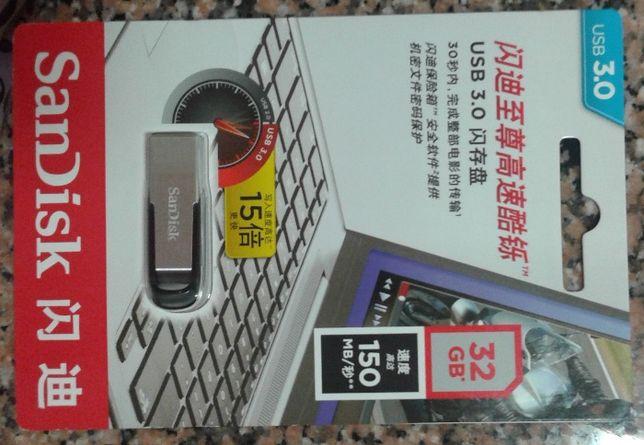 Pen 32 GB USB 3.0 nova