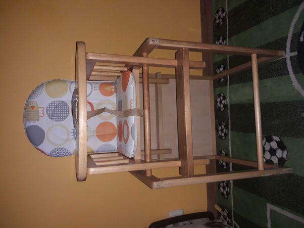 Krzesełko do karmienia , stolik. 2w1