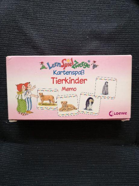 Gra do nauki j.niemieckiego Tierkinder Memospiel - Dzieci zwierząt