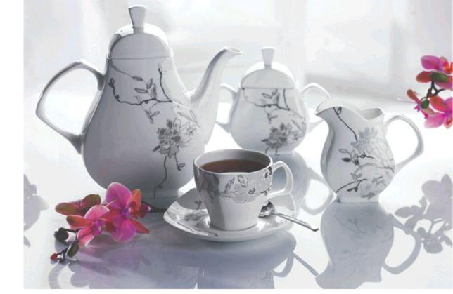 Serwis kawowy Philipiak Fiore na 6 osób