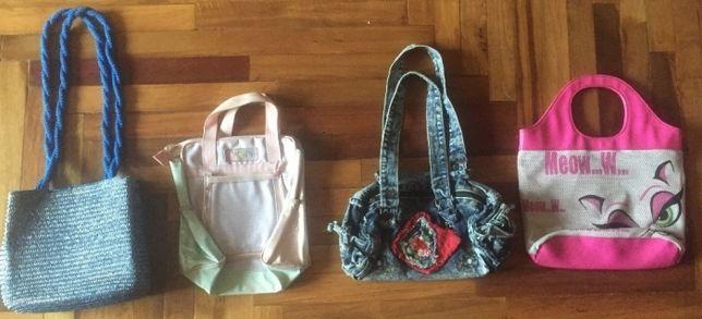 Детские сумочки (4 штуки) для маленькой модницы / комплект из 4 штук