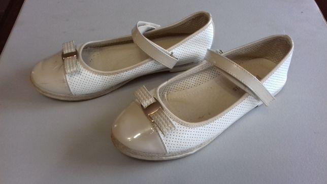 Eleganckie buty do sukienki dla dziewczynki, rozm. 34