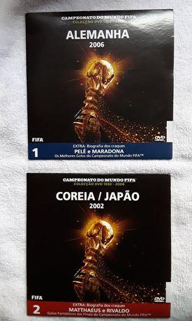 DVD Campeonato do Mundo FIFA - Colecção 1930/2006