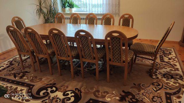 Krzesła drewniano -tapicerowane