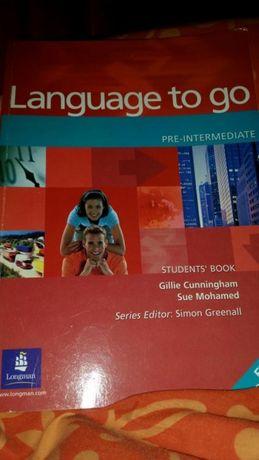 Language to go książka do angielskiego