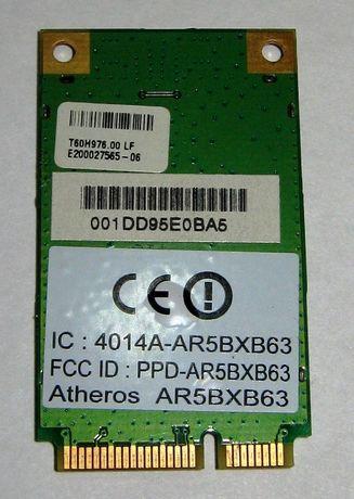 Wi-Fi Модуль Atheros AR5BXB63 Mini PCIe Ноутбук