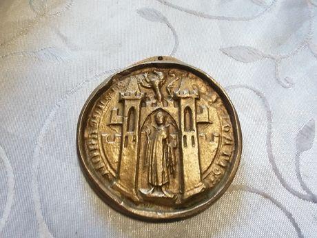 Stary medalion okolicznośćiowy