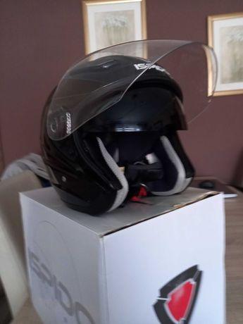 Kask motocyklowy Ispido Aviator z blendą przeciwsłoneczną rozmiar XL