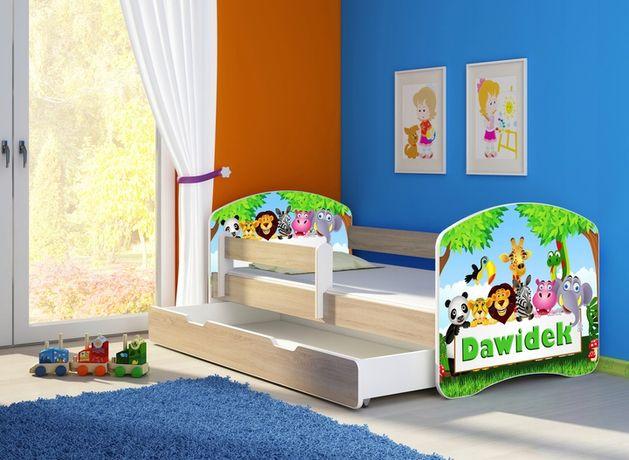 Łóżko, łóżeczko dziecięce Dąb Sonoma 140X70