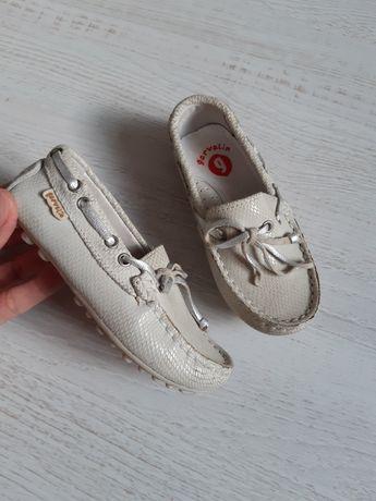 Туфли, балетки, мокасины, для девочки, кожа, кожаные