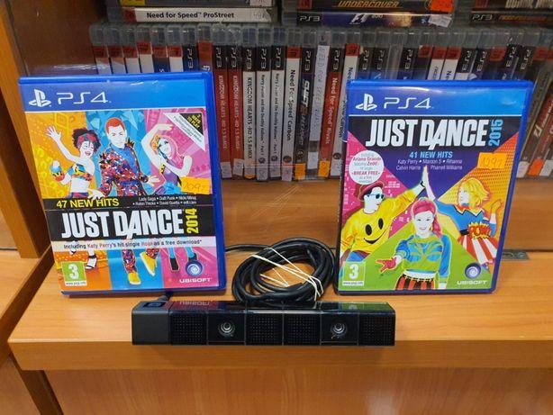 SONY PS4 CAMERA Tańce Just Dance Zestaw