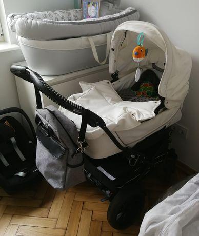 Wózek Emmaljunga Gondola z moskitierą + spacerówka