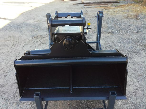 łyżka skarpowa hydrauliczna 1200mm do mini koparki 2-3 tony