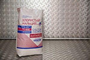 Хлористый кальций в мешках по 25кг