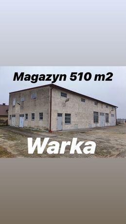 Magazyny, Warka, wynajmę, przy drodze na Warszawę tylko 46 km