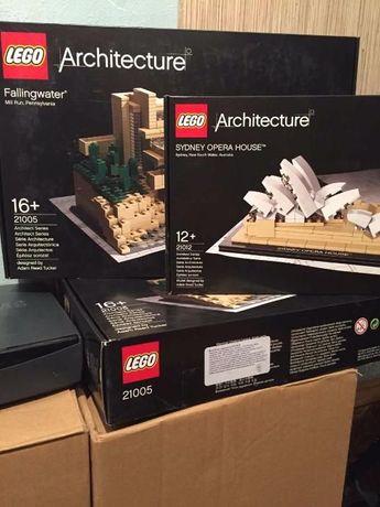 Продам LEGO Architecture 21005,21012